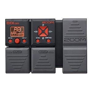 Pedaleira Zoom B1Xon Baixo Pedal Multi-efeitos