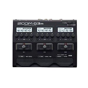 Pedaleira Zoom G3N Guitarra Multi-efeitos
