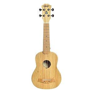 Ukulele Seizi Bali Bamboo Solid Soprano Acústico