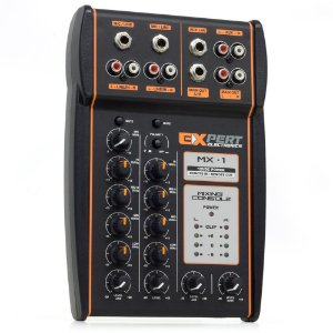 Mesa Crossover Expert Eletronics MX-1 12V 4 Canais 2 Vias Processador de Áudio Equalizador Stereo