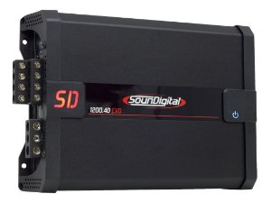 Modulo Amplificador SounDigital SD1200.4 EVO II 2 OHMS