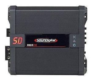 Modulo Amplificador SounDigital SD1600 1 Canal 1600 RMS 4 OHMS