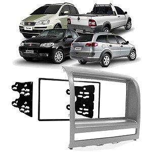 Moldura 2 din FIAT Idea 2005 a 2012 Prata