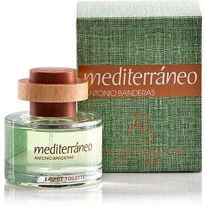 Antonio Banderas Mediterráneo Eau de Toilette 50Ml Masculino