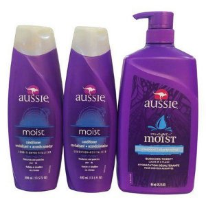 Kit Aussie Shampoo Moist 865Ml + 1 Condicionador Moist 400Ml