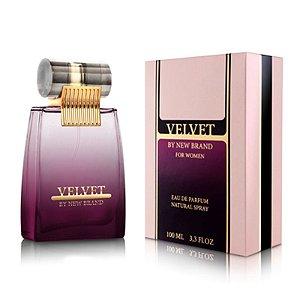 New Brand Velvet Eau de Parfum 100Ml Feminino