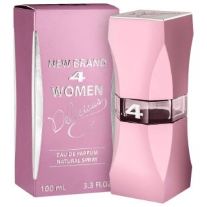 New Brand 4 Women Delicious Eau De Parfum 100ml Feminino