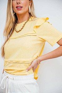 Blusa Babadinhos Yellow