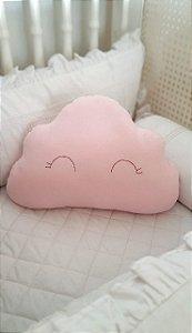 Almofada Decorativa Nuvem Rosa
