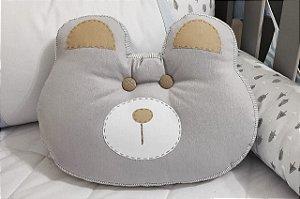 Almofada Decorativa Carinha Urso