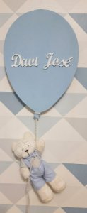 Porta Maternidade Balão com Ursinho
