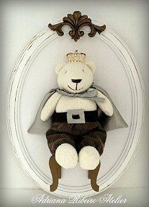 Quadro Ursinho Príncipe