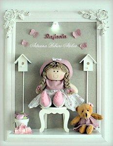 Porta Maternidade Boneca com Ursinho