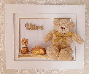 Porta Maternidade Ursinho Dourado