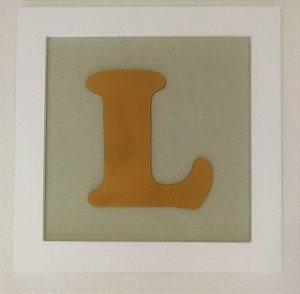 Quadro Letra L