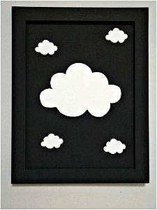 Quadro Nuvens Lindas
