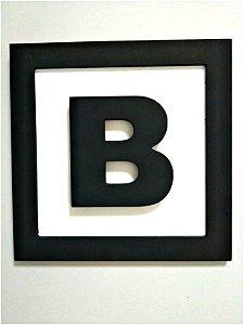 Quadro Letra B