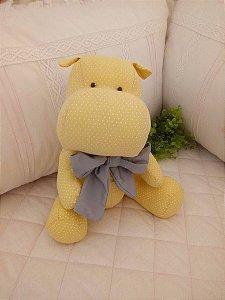Hipopótamo Baby Menino Amarelo