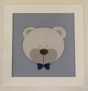 Quadro Carinha de Urso