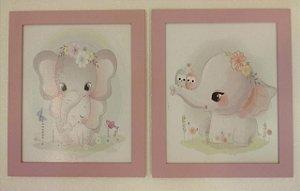 Quadros Elefoa e Elefantinha
