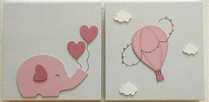 Quadros Elefantinha e Balãozinho
