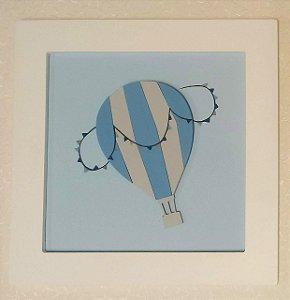 Quadro Balãozinho Azul