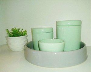 Kit Higiene Bebe Verde