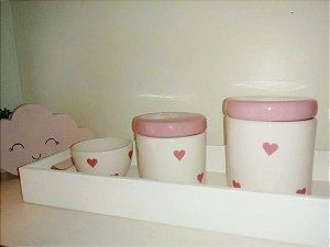 Kit Higiene Bebe Coração