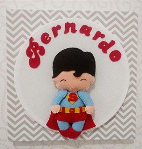Porta Maternidade Super Homem