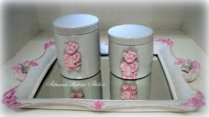 Kit Higiene Ursina Rosa