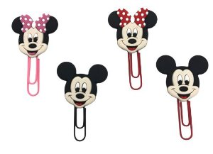 Clips Médio Mickey/Minnie/Hello Kitty