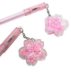 Caneta Flor Sakura