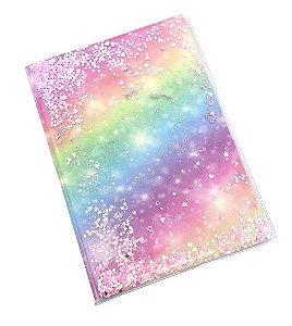Caderno Color Glitter