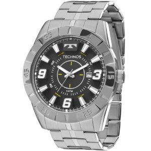 Relógio de Pulso Masculino Technos 2115KYX/1P Prata