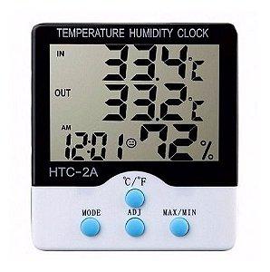 Termômetro Higrômetro Com Sonda