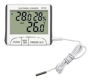 Higrômetro Digital Com Termômetro