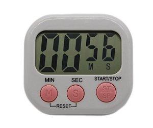 Timer Digital De Cozinha Com Imã E Temporizador Cronômetro