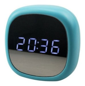 Relógio De Mesa Digital Led Com 3 Alarmes Espelhado
