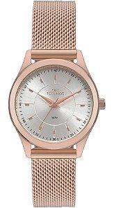 Relógio Feminino Technos Elegance Boutique Ouro Rosé