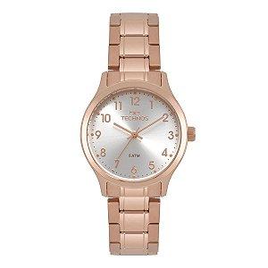 Relógio de Pulso Feminino Technos 2035MPG Ouro Rosé
