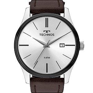 Relógio de Pulso Masculino Technos Couro