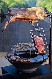 Fire Pit - Modelo Estação Iron Grill