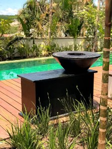 Fire Pit Brasil - Modelo Gourmet