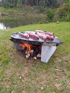 Fire Pit Brasil - Modelo Raiz