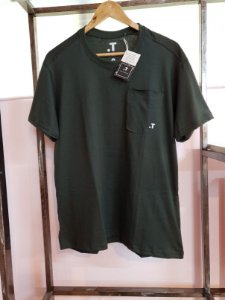 T-shirt algodão orgânico masculina