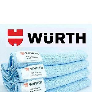 Pano de Microfibra  40x40cm azul 1 unid - Wurth