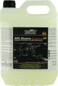 APC Cleaner Orange 5L Nobre Car - Limpa Interiores Automotivos