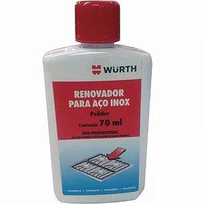 Restaurador Aço Inox 250ml Geladeira Freezer Fogão Tudo em Aço Inox - Würth