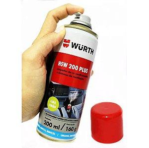 HSW 200 plus Limpa Ar Condicionado Lima Limão Würth