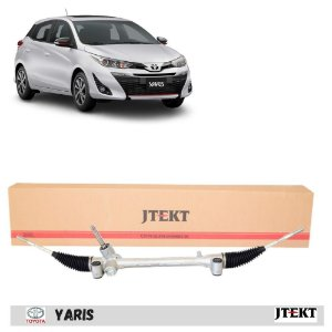 Caixa de direção manual sem terminais coluna direção elétrica - Toyota Yaris todos 2018 em diante - jtekt
